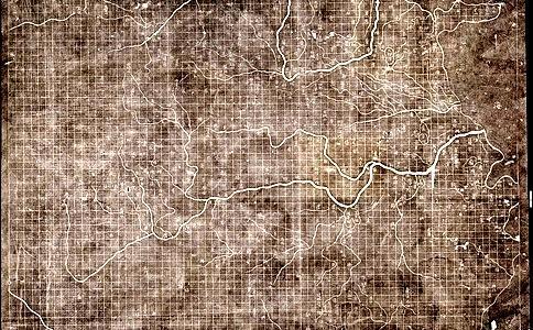 世界上最早的实物地图——秦国木板地图