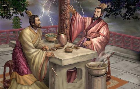 曹操和刘备煮酒论英雄喝的是什么酒?