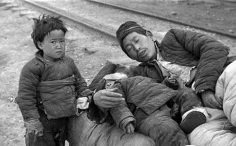 China1942年大饥荒是what样子?真实historyPhoto看到人辛酸