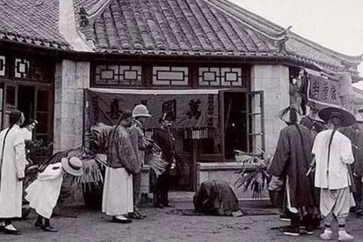 八国联军入侵北京真实历史老照片