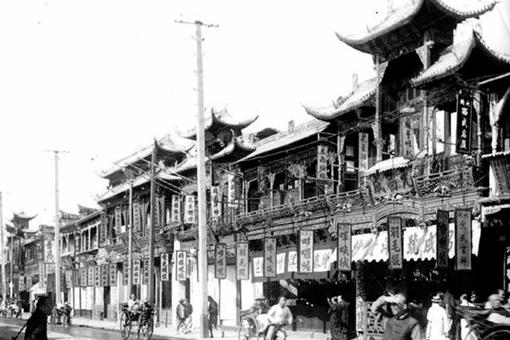 晚清时期上海老照片 现在的魔都在当时是什么样子的?
