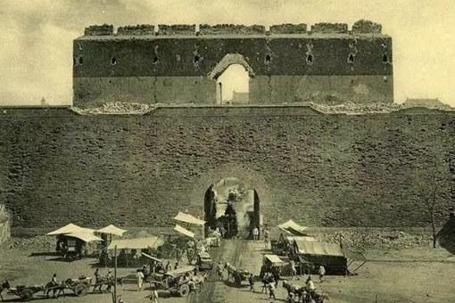 百年前的北京故宫老照片