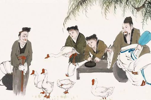 王羲之为什么喜欢鹅?书圣王羲之爱鹅的原因是什么