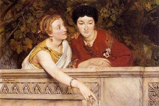 古罗马男主人买的女奴隶是什么结局?
