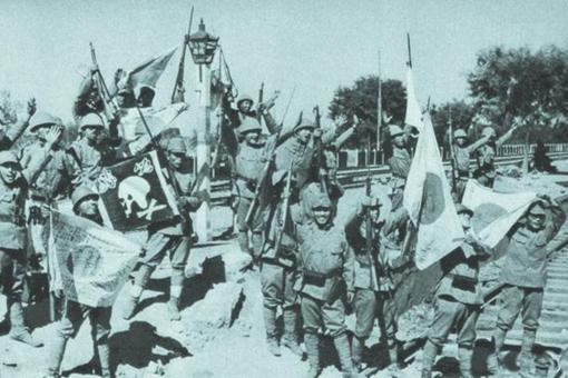 日本战地记者下的德州沦陷老照片