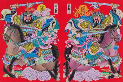 春节门神怎么贴 门神怎么区分左右