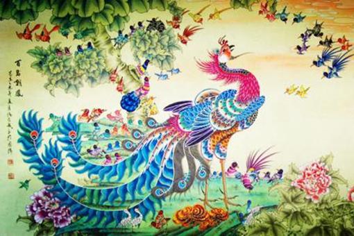百鸟朝凤的意思是什么?百鸟朝凤的故事是怎样的?
