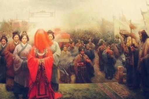 汉朝和亲为什么只嫁不娶?是因为皇帝看不上吗?