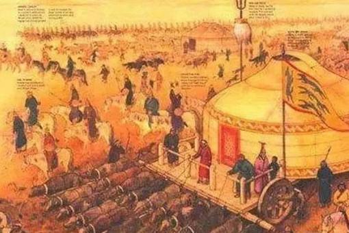 蒙古军队如何解决后勤问题?把马直接当粮仓