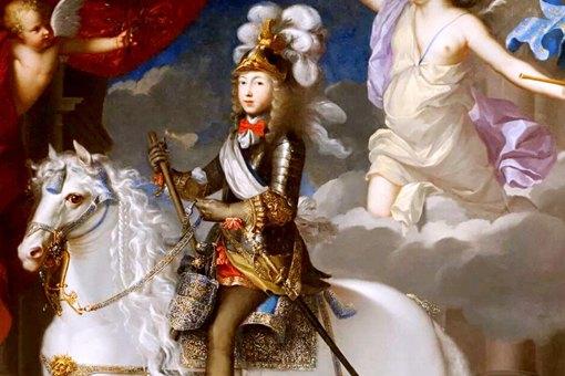 法国国王路易十四宣布将宫廷从巴黎图片