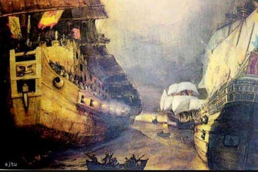 我国历史上第一次与英国人交锋是哪一次战争?并不是鸦片战争