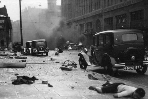 1937年日军进攻上海时的8张难得一见的照片,见证了日军的残暴