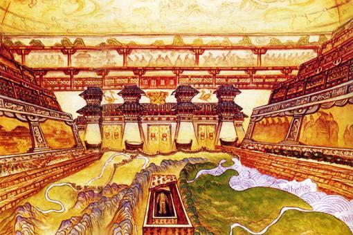 秦始皇的棺椁什么样?是什么材质的?