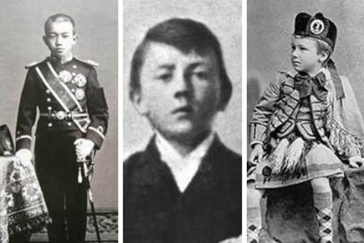 二战时期各国最高领导小时候长什么样的?二战各国领导人童年照片