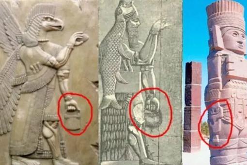 古代女性不背包男性背包?