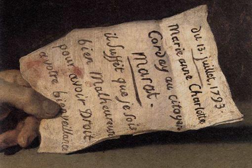 马拉之死赏析作品,马拉之死油画解析
