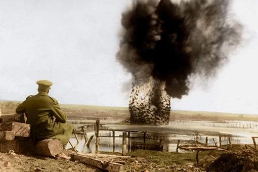 分享一组第一次世界大战期间的彩色照片