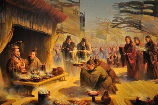 秦始皇登基时,日本,韩国,美国,非洲,都是什么样的?