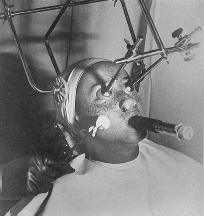 最早的美容行业是怎样的?最早做美容的一组照片