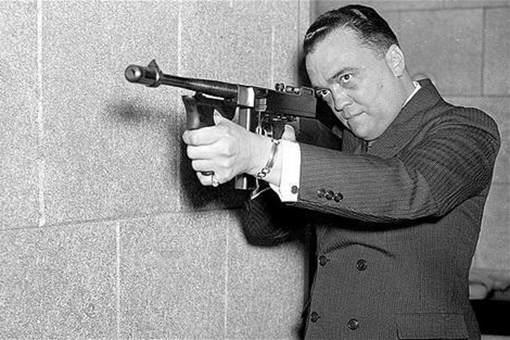 FBI负责人埃德加·胡佛是