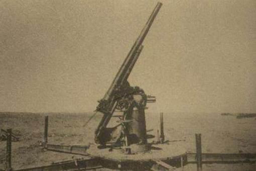 杜立特空袭东京的时候,日本用的是什么防空炮?为什么一架都