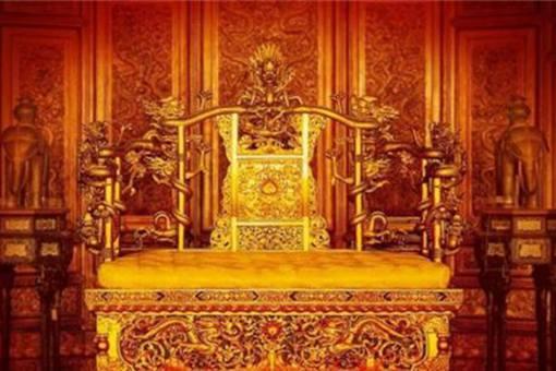 袁世凯的龙椅是什么样子的?袁世凯的龙椅价值多少钱?