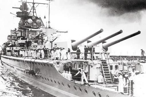 揭秘纳粹德国袖珍战列舰施佩伯爵号在海上的游击战