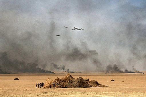 海湾战争萨达姆为何要向波斯湾倾倒500万吨石油?