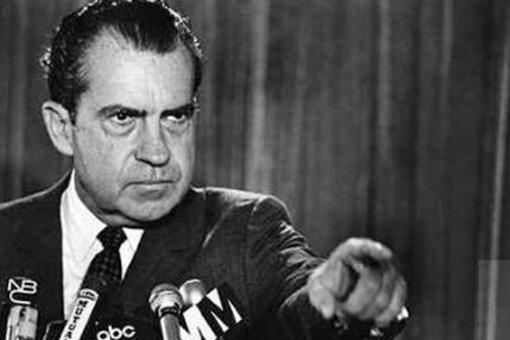 美国前总统尼克松诞生