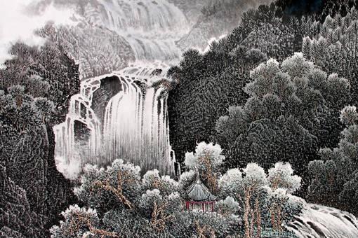 唐伯虎的《庐山观瀑图》真的价值36亿吗?《庐山观瀑图》价值多少?