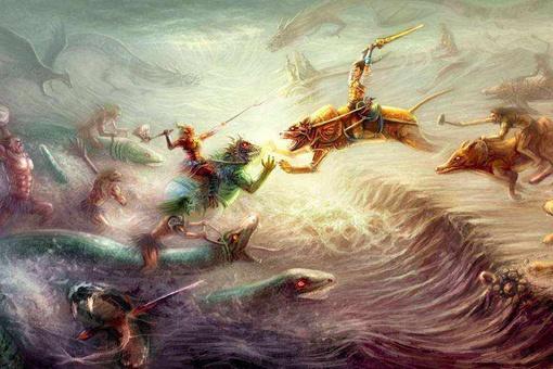 阪泉之战和涿鹿之战时间谁先谁后?