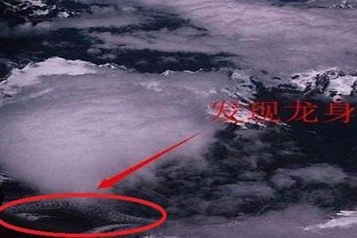 卫星拍到的真龙 青海湖发现一条真龙是真的吗?