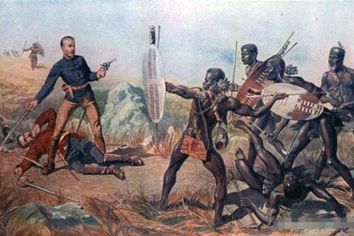 19世纪英国在非洲的殖民地当中最强的劲敌就哪些?