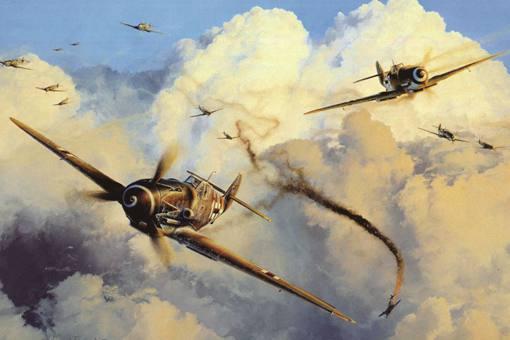 二战各国顶尖王牌飞行员都