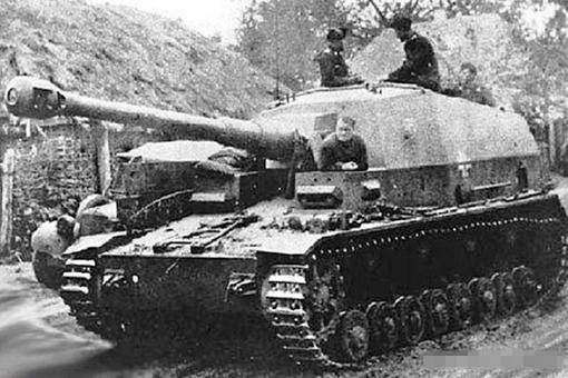 二战重火力坦克歼击车大麦克斯有多强大?详解大麦克斯歼击车