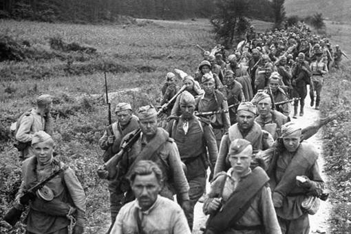 第二次世界大战苏联士兵为