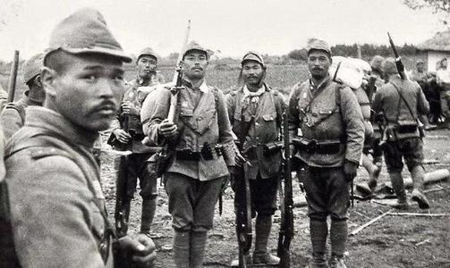二战结束的前一天日本军队