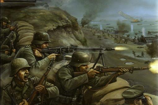 二战诺曼底登陆死亡多少人