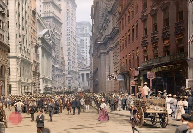清朝末年时期的美国是什么样子的?一组20世纪初的美国彩色照片