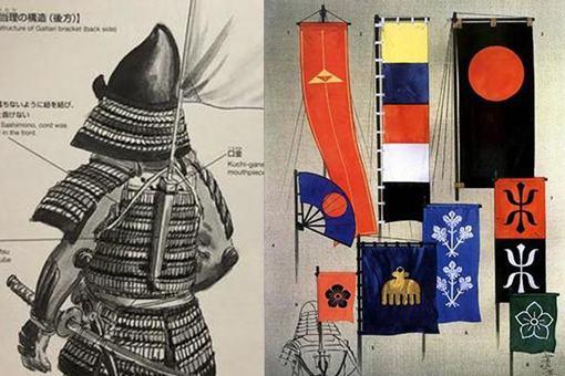 日本战国时期的军旗很多种类,都有什么作用?