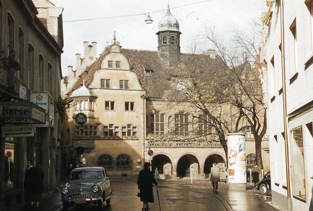 柏林危机后的西德是什么样子的?一组1950年的西德彩照