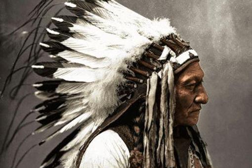 美国印第安大屠杀中死了多少印第安人酋长?