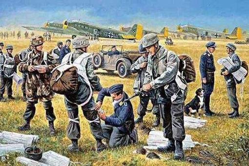 克里特岛战役德军损失多严重?揭秘克里特岛空降战役
