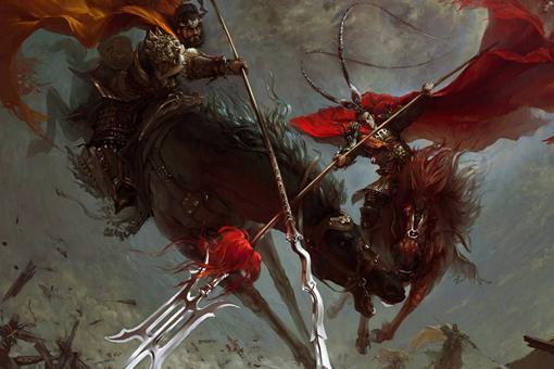 吕布武艺绝世无双,三国有哪些将领能与他一战还不落下风
