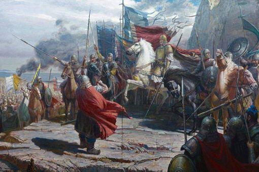 刘裕的却月阵是怎么摆的?刘裕是历史上武功最高的皇帝吗?