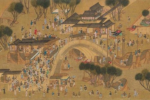 地摊经济为什么这么火?中国古人包括皇室早在搞这个了
