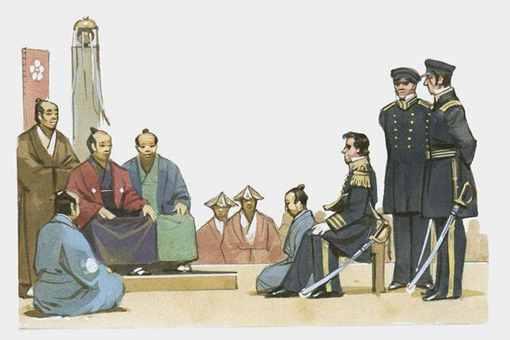 黑船事件对日本的影响有哪些?黑船事件引发了日本哪一社会