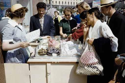 苏联时期的地摊经济有多发达?一组照片告诉你
