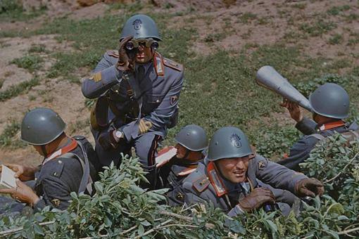 二战意大利精锐部队是什么样的?一组意大利精锐撒丁掷弹兵彩照