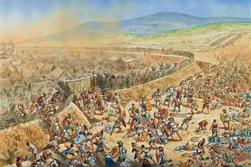 古希腊人是如何建造城墙的?揭秘古希腊人最经典的战术